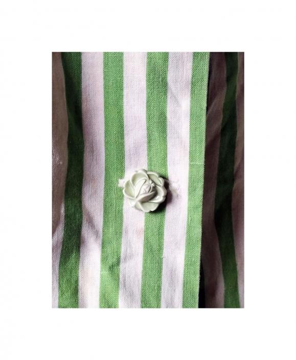 Cabbage Enterprises linen shirt with button 197272-