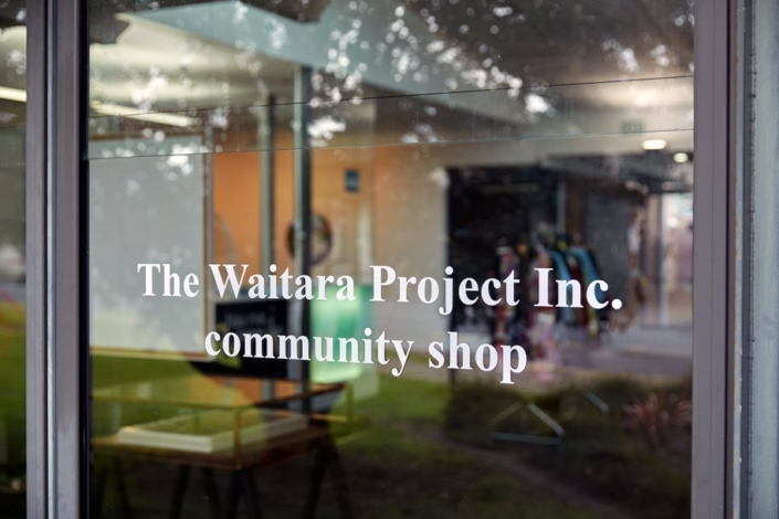 The Waitara Project Inc window Te Tuhi 2020
