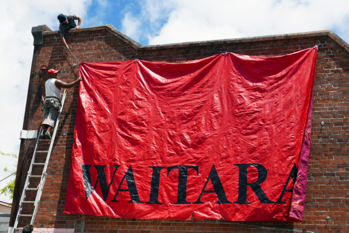 waitara flag - sovereignty